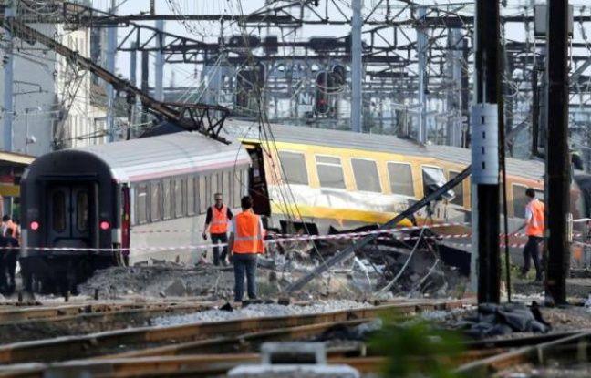 L'accident ferroviaire de Brétigny-sur-Orge (Essonne), a fait sept morts et 32 blessés le 12 juillet 2013.