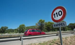L'autoroute A57.