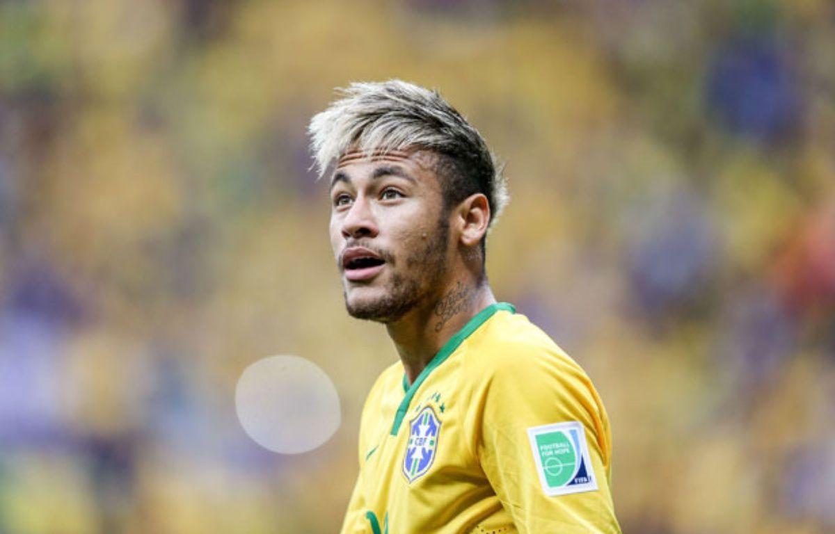 Neymar lors du match entre le Brésil et le Cameroun le 23 juin 2014. – : FPB/WENN.COM/SIPA