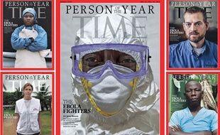 Le magazine Time a choisi le personnel médical luttant contre l'épidémie Ebola comme