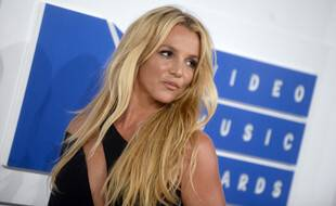 Britney Spears attends the MTV Video Music Awards, VMAs, at Madison Square Garden in New York City, USA, on 28 August 2016.