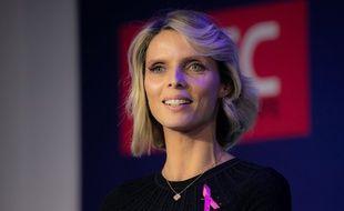 Sylvie Tellier à Paris, en octobre 2019.