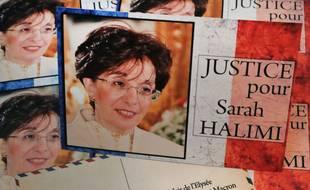 Le modèle de cartes postales envoyées à Emmanuel Macron réclamant justice pour Sarah Halimi
