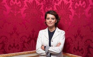 Najat Vallaud-Belkacem, à Paris le 10 décembre 2020.