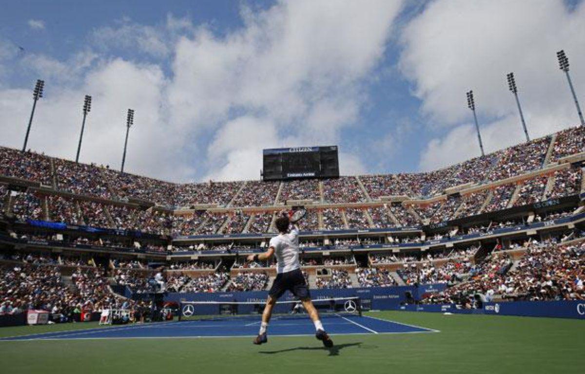 Andy Murray sur le Central de l'US Open, le 8 septembre 2012 à New-York. – M.Segar/REUTERS