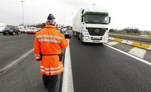 Rekkem, le 21 fevrier 2013. Operations de controles routiers franco-belges.