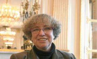 Marie-Françoise Marais est la présidente de l'Hadopi.