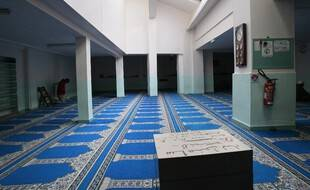 Une salle de prière de la mosquée de Pantin, le 8 janvier 2010.
