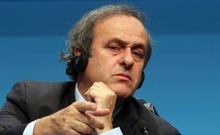 Michel Platini le 24 mars 2015.