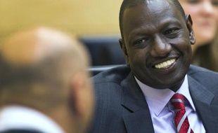 Le vice-président kényan William Ruto dans la salle d'audience de la Cour pénale internationale, à La Haye, le 10 septembre 2013