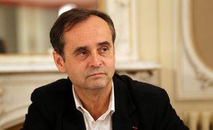 Robert Ménard à Béziers, le Neuf décembre 2014