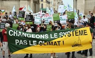 Lors d'une manifestation écologiste à Marseille. (archives)