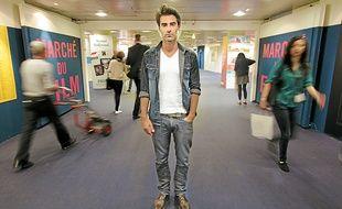 Guillaume Campanacci, ici au Marché du film, dans les sous-sol du Palais.