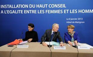 Installation du Haut Conseil à l'Egalité Femmes - Hommes en 2013