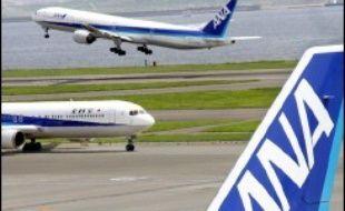 Japon : Une compagnie aérienne imagine un robot pour sortir… sans bouger de chez soi. Des avions de la compagnie aérienne japonaise All Nippon Airways (illustration).