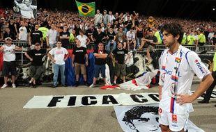 Le 22 mai 2009, Juninho avait disputé à Gerland son dernier match sous le maillot de l'OL.