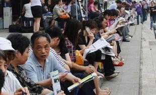 Les parents les plus aisés vont jusqu'à louer des maisons à proximité des 7.300 centres d'examen.