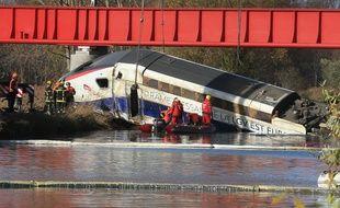 Le 14 novembre 2015, 11 personnes sont mortes et 42 autres ont été blessées lors du déraillement d'une rame d'essai de TGV au nord-ouest de Strasbourg.