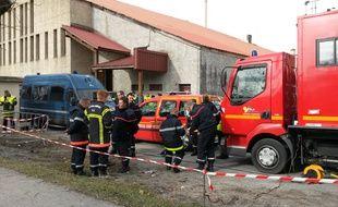 Le 25 mars 2015, les secours ˆ Seyne-les-Bains prs des lieux de l'accident de l'A320 de la compagnie Germanwings. 150 personnes sont dŽcŽdŽes dans ce crash qui a eu lieu dans les Alpes-de-Haute-Provence le 24 mars 2015.