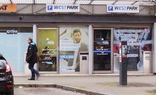 Le local de la société West park, gare sud à Nantes