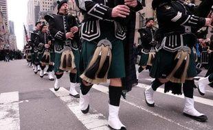 La parade de la Saint-Patrick à New York le 17 mars 2015