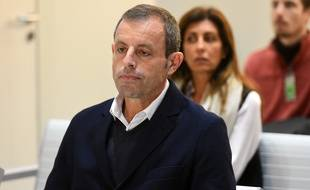 Sandro Rosell, l'ancien président du Barça.
