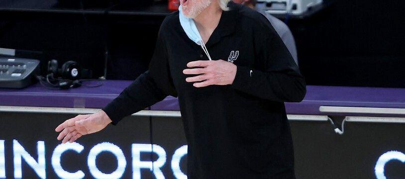 Gregg Popovich, le coach des San Antonio Spurs.