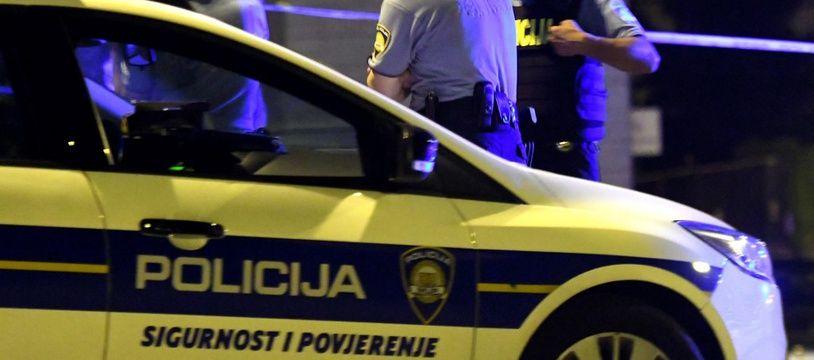Une voiture de police en Croatie (image d'illustration).