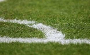 Illustration d'un terrain de football.