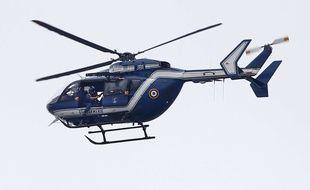Un hélicoptère de la Gendarmerie nationale. Illustration.