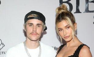 Les époux Justin et Hailey Bieber