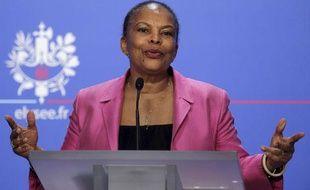La ministre de la Justice, Christiane Taubira, le 7 novembre 2012, à Paris.