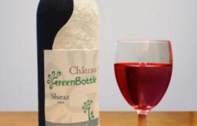 La bouteille de vin en papier de Greenbottle.