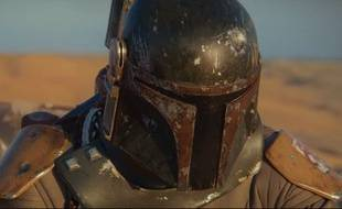 """Boba Fett, le chasseur de prime de """"Star Wars"""", dans un teaser imaginé par un fan."""