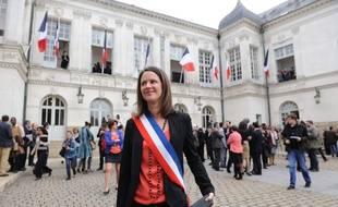 Johanna Rolland (PS) est maire de Nantes depuis mars 2014.