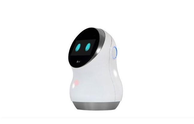 Le Hub Robot d'LG.