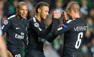 Les Parisiens contents après leur victoire à Glasgow