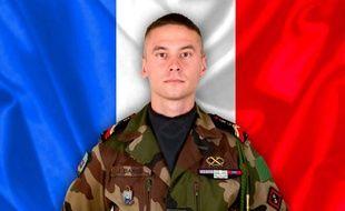 Photo diffusée par le ministère français de la Défense le 6 avril 2017, du caporal-chef Julien Barbe, du 6è régiment du génie d'Angers, tué en mission au Mali.