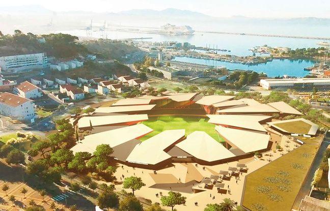 Le projet de stade de l'Athlético Marseille, à l'Estaque, n'a pas avancé.