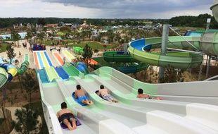 O'Gliss Park à Moutiers-les-Mauxfaits en Vendée.