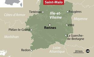 Le Dazoujan a coulé lundi matin au large de Saint-Malo.