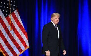 Donald Trump le 18 décembre 2017 lors d'un discours sur la sécurité nationale.