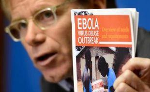 Le docteur Bruce Aylward, adjoint au directeur général de l'OMS, le 16 septembre 2014 à Genève