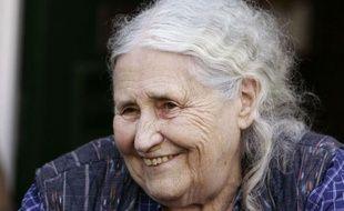 L'écrivain Doris Lessing, en 2007.