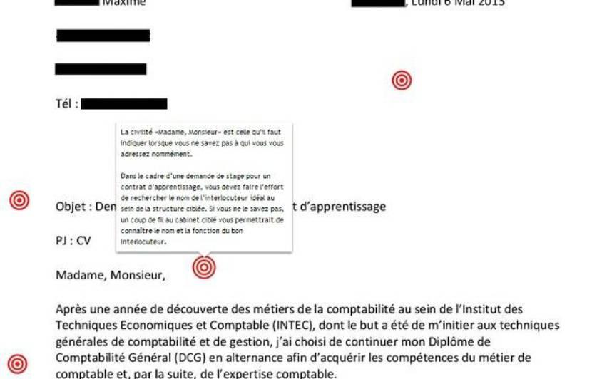 La Lettre De Motivation De Maxime Decryptee Par Notre ...
