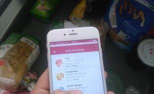 So Appli, lancée par une Toulousaine, permet de lutter con,tre le gaspillage alimentairegrâce à la gestion de ses placards et frigo.