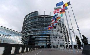 Le siège du Parlement européen de Strasbourg, le 12 octobre 2012