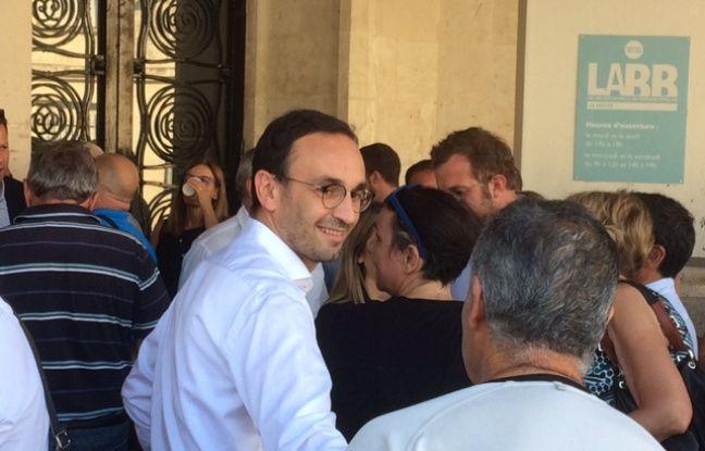 Municipales 2020 à Bordeaux: «Ilfaut une croissance plus douce, plus acceptée et en dentelle», défend le candidat LREM Thomas Cazenave