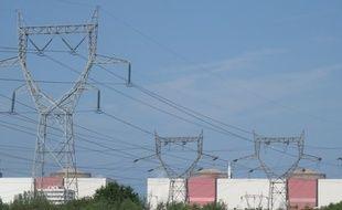Des pylônes électriques (illustration).