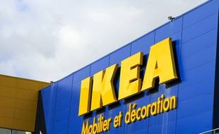 Un magasin Ikea, illustration